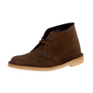 Clarks Originals Classic Desert Boots Brown Suede